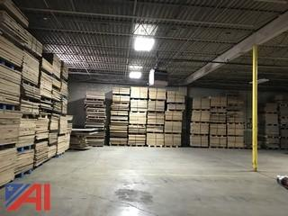 2 Pallet Lot, Durable Composite Industrial Flooring