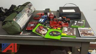 XBox Games, Video Cassette Player, Toys