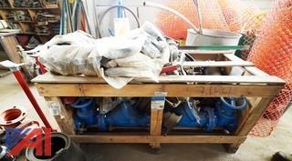 New Watts Backflow Preventer/Neptune Fire Meter & Hot Box Enclosure