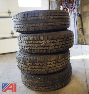 (4) Goodyear Wrangler #SR-A LT235/85R16 Tires