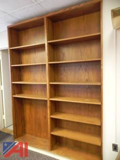(#26) (1) Wooden Bookcase