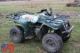 2001 Yamaha Bear Tracker ATV