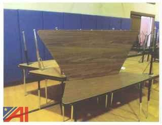 (17) Trapezoid Tables