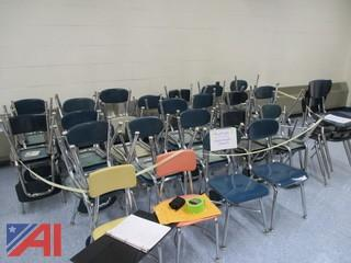 Assorted Chairs and Boards