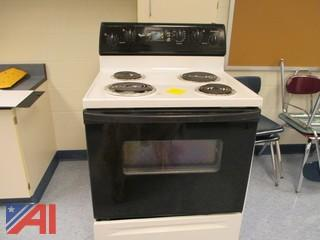 Whirlpool Dryer, Washer, Stove