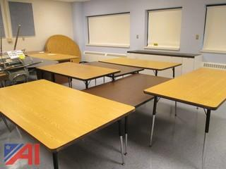 (12) Assorted Conference/Work Tables