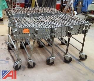 (2) Flexible Expandable Conveyors