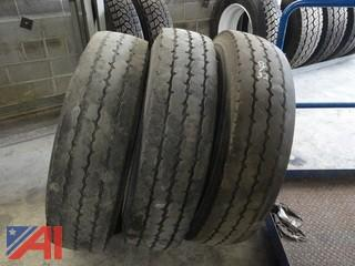 (3) Michelin 11R24.5 Steer Tires