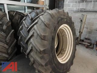 (2) Tractor Tires