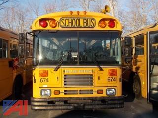 2001 Bluebird TC2000 School Bus