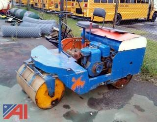 Ride-On Roller Compactor