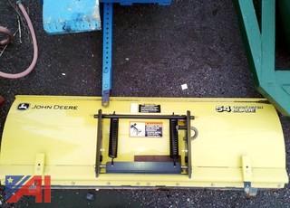 """John Deere 54"""" Quick Hitch Plow Blade"""