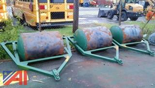 (3) Heavy Duty Tow Behind Gang Roller/Compactors