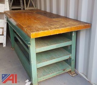 (1) Metal Working Table