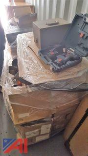 (1) Pallet of Assorted Shop Equipment & Plexi Glass