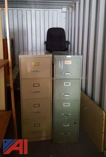 Lot of Assorted Office Furniture & More