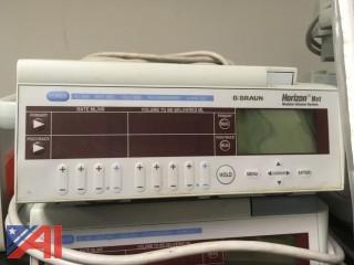 (5) BBraun Horizon NXT Infusion Pumps with Blood Administration Tubing