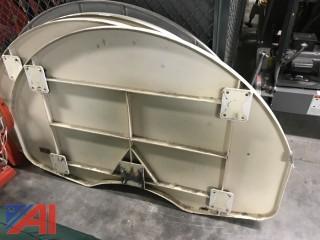 (3) Basketball Backboards