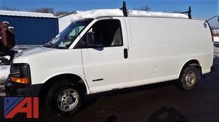 2006 Chevrolet Express 2500 Cargo Van