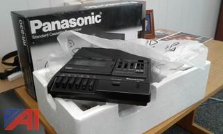 (4) NEW Panasonic Standard Cassette Transcribers