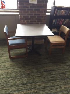"""(2) 30"""" x 30"""" Tables"""