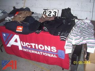 Men's Clothing and Boots