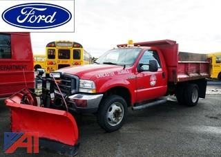 2002 Ford F550 XL Dump & Plow Truck