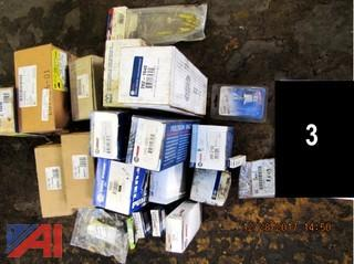 Assortment of Surplus Auto Parts
