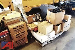 (2) Pallets of Assorted Bus Parts
