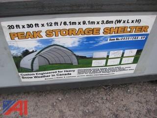 Peak Storage Shelter, 20 ft x 30 ft