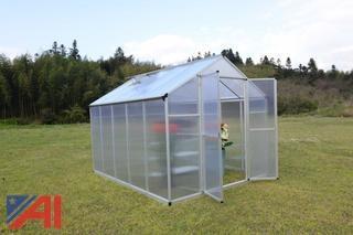 Twin Wall Greenhouse, 8' x 10'