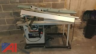 Delta Unisaw Table Saw & Accessories