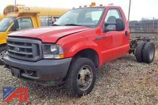 2003 Ford F550 XL Super Duty Cab & Chassis