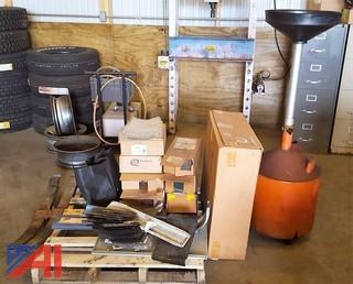 Pallet of Assorted Parts & Equipment