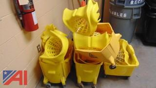 Mop Buckets with Attachments