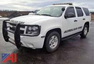 2011 Chevrolet Tahoe/Police Package Suburban