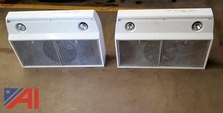(2) Allure Oven Hoods