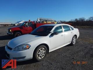 2010 Chevrolet Impala 4 Door Police Cruiser