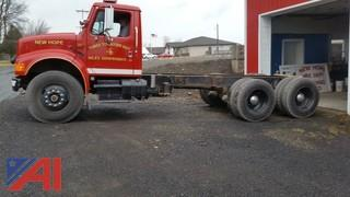 1991 International 4900 6x4 Cab and Chassis
