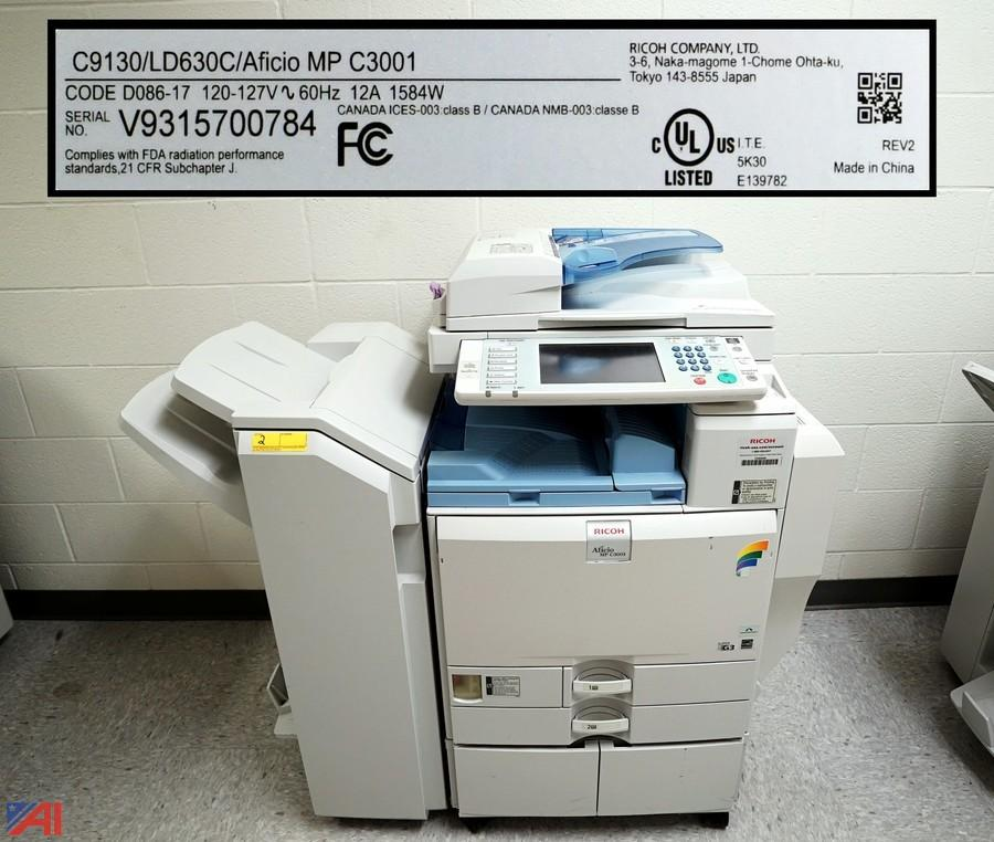 Ricoh Aficio MP C3001 Multifunction PCL 6 Treiber Windows XP