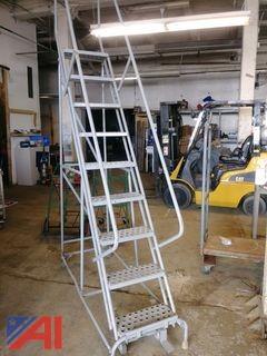 9 Step Cotterman Rolling Ladder