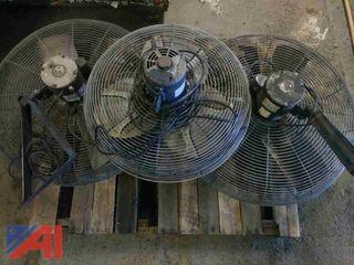 (3) Industrial Fans