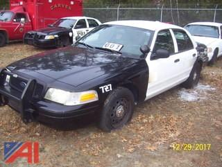 2007 Ford Crown Victoria 4 Doort/Police Interceptor