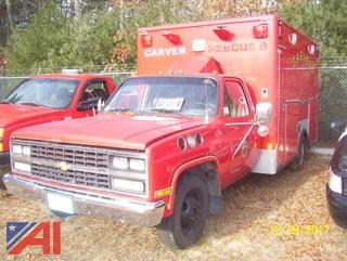 1989 Chevy 3500 Ambulance