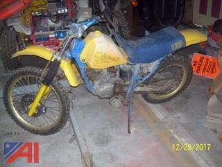 Suzuki DR125 Dirt Bike