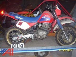 1988 Suzuki SP200 Dirt Bike