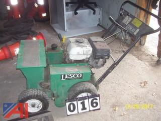Lesco Slice Seeder