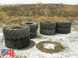 (8) E-2/L-2 (20.5-25) Tires