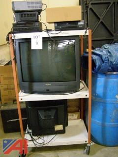 TV's and VCR's