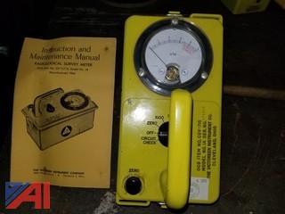 (4) Radiological Survey Meter